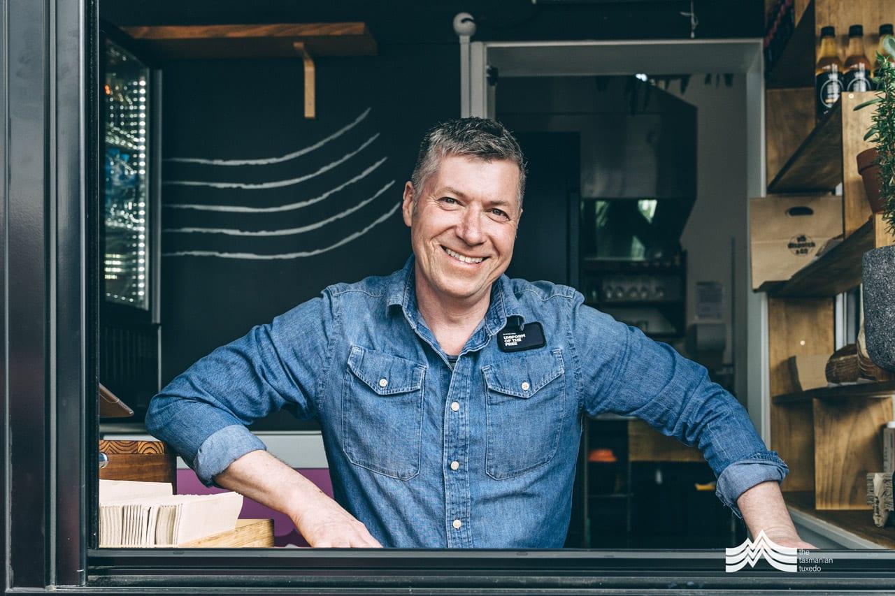 Tim Daly Dispatch Cafe New Town Tasmania