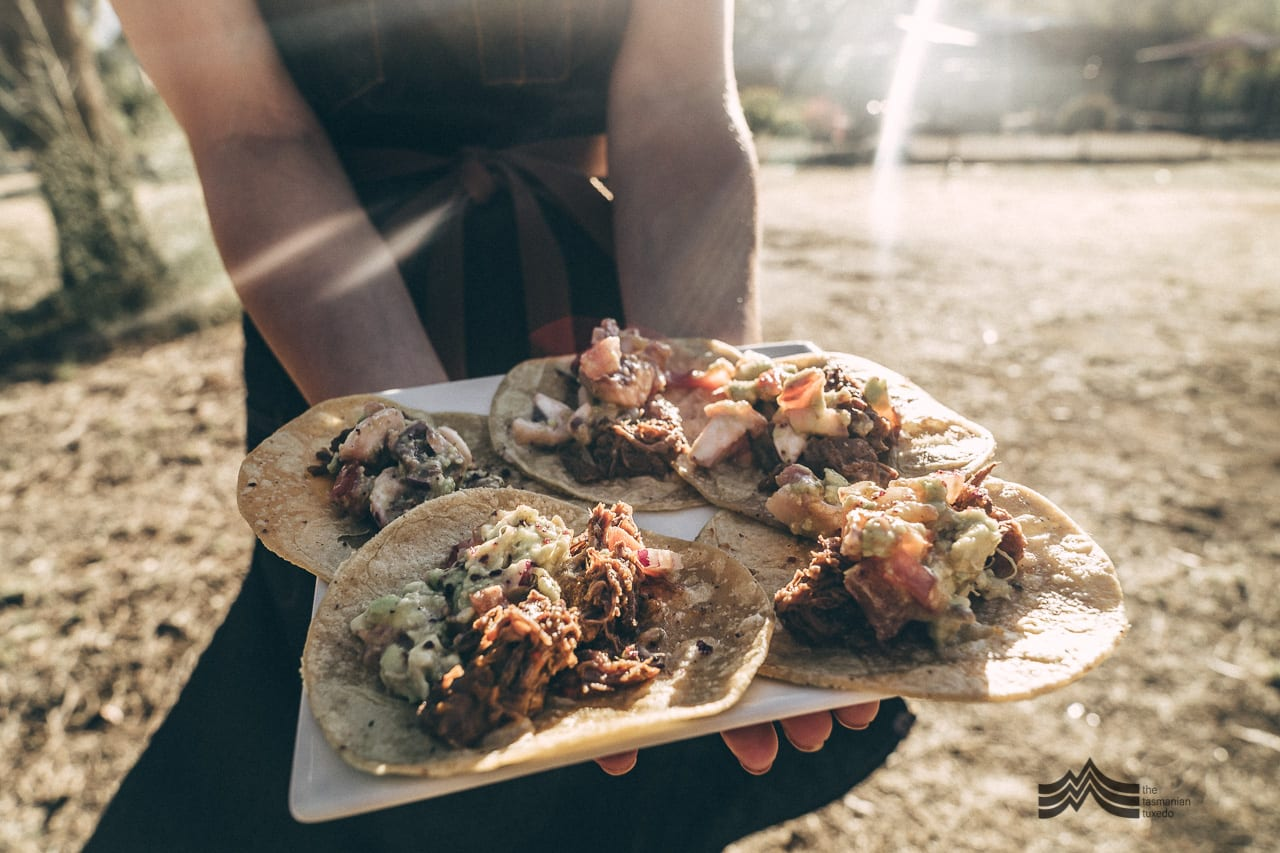 palawa kipli wallaby tortilla dish