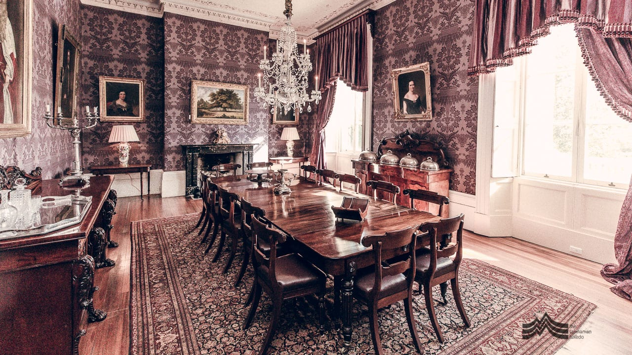 Clarendon House dining room