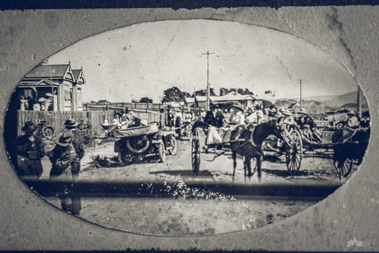 1920s image of Wynyard, Tasmania